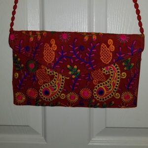Handbags - Bohemian hippie clutch bag